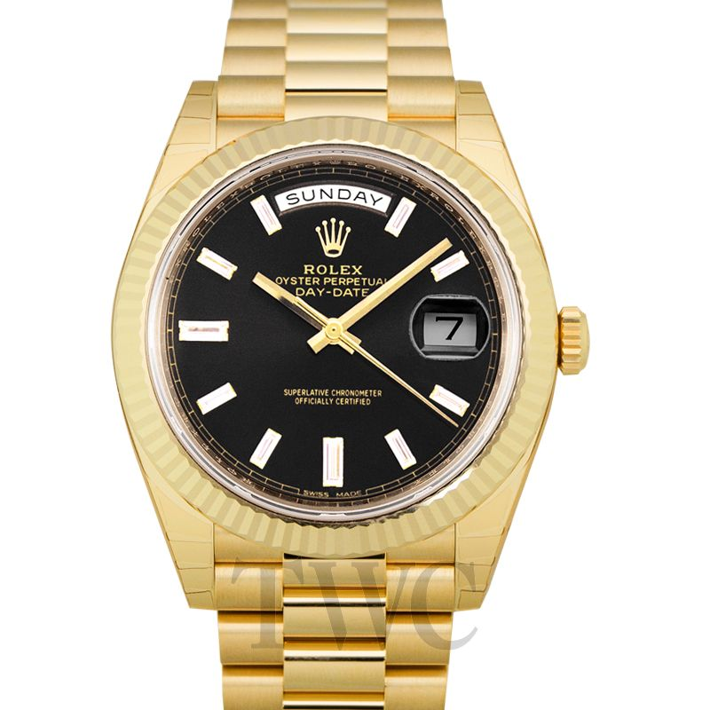 Rolex Day Date, Oyster, Perpetual, Authenticity, Gold